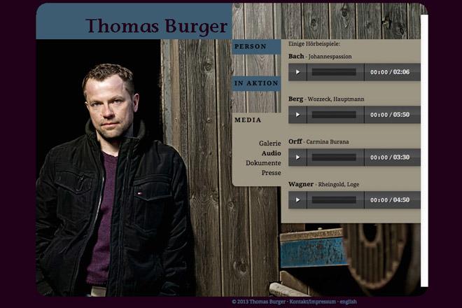 Thomas Burger Tenor Audio