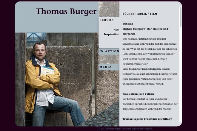 Thomas Burger Inspiration