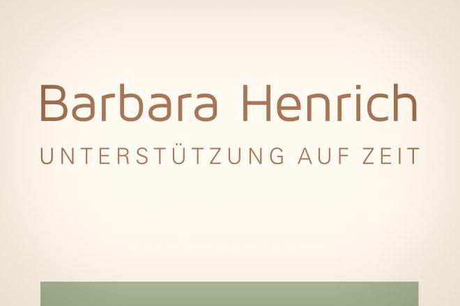 Barbara Henrich Logo