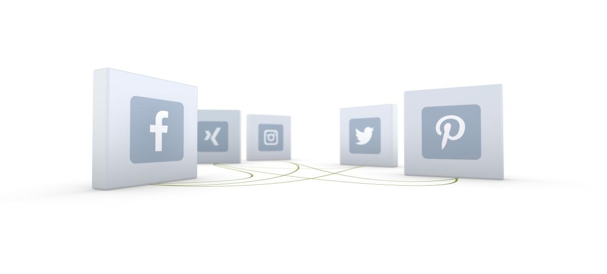 Social-Media Symbole